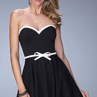 Strapless Sweetheart La Femme Homecoming Dress