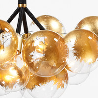 PELLE — 24k Gold Bubble Chandelier Upgrade