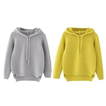 Knitted Hoody for Baby Boys / Girls