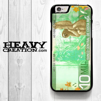 10 Million Col Sloth for iPhone 4 4S 5 5S 5C 6 6 Plus , iPod Touch 4 5  , Samsung Galaxy S3 S4 S5 S6 S6 Edge Note 3 Note 4 , and HTC One X M7 M8 Case