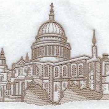 Towel  ST PAULS CATHEDRAL  Design - Luxury Cotton