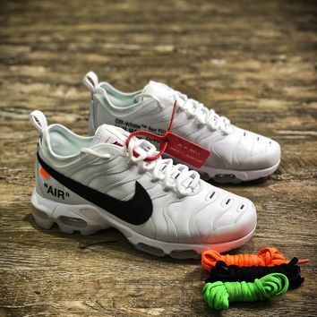 Off White X Nike Air Max 93 PLUS TXT TN Sport Running Shoes - Best Online Sale