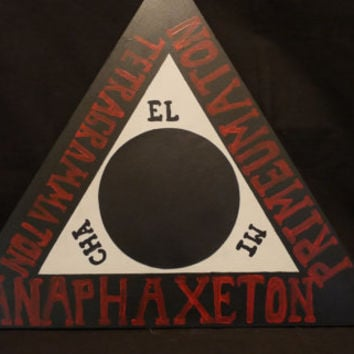 Triangle of Art | Evocation Triangle | Goetia