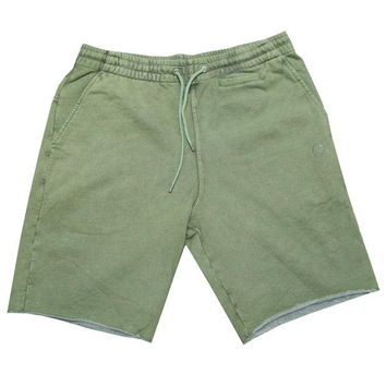 ONETOW Crooks & Castle Maze Shorts In Rifle Green