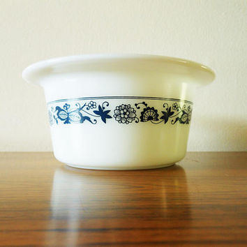 Pyrex Butter Dish, Pyrex Old Town Blue Butter Dish, Blue Onion Butter Dish, Corelle Butter Tub, Vintage Corning Butter Dish