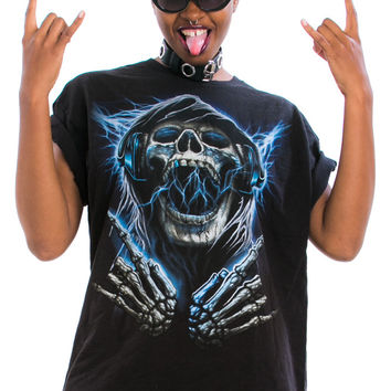 Vintage 90's Hella Metal Tee - One Size Fits Many