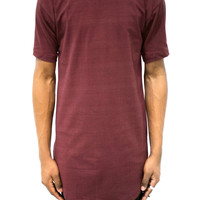 Burgundy Essential Layering T-Shirt