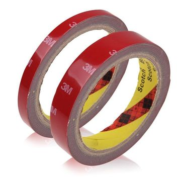 Hot 1 Roll 1cm width Auto Acrylic Plus Double Sided Attachment Tape Car Truck Van