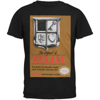 Nintendo - Distressed Legend of Zelda Cover T-Shirt
