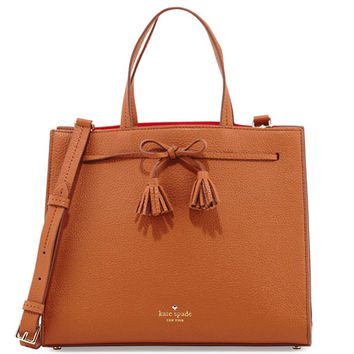 kate spade new york hayes street isobel leather satchel bag