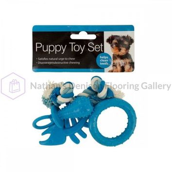 Puppy Teeth-cleaning Toy Set OF653