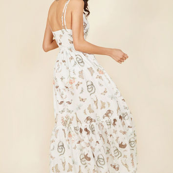 In Your Nature Maxi Dress