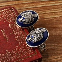 Fashion-Mart The Vampire Diaries Damon Salvatore and Stefan Salvatore Set of 2 Rings