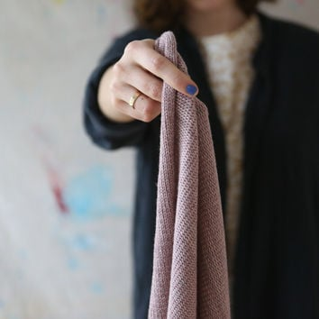 Cashmere Knit Scarf