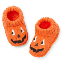 Halloween Crocheted Booties