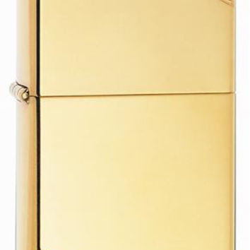 Zippo Vintage High Polish Brass Lighter
