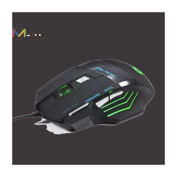 Professional 5500 DPI 7D LED Wired Gaming Mouse