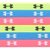 Under Armour Women's Mini Headbands, 6 pack-One Size, High-Vis Yellow