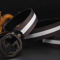 Gucci Belt Men Women Fashion Belts 502504