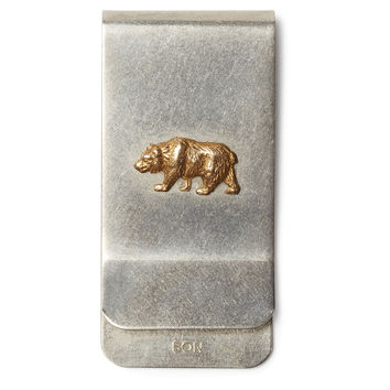 Nickel Money Clip, Bear, Wallets