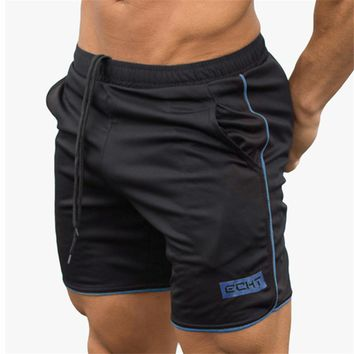 2018 summer casual men's sporting beach shorts Sweatpants fitness short jogger fashion gyms gold medal quick-drying men's shorts