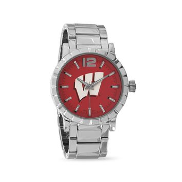 University of Wisconsin Officially Licensed Men's Watch