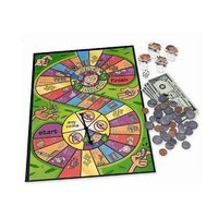 Learning Resources - Money Bags Coin Value - Educational Board Game
