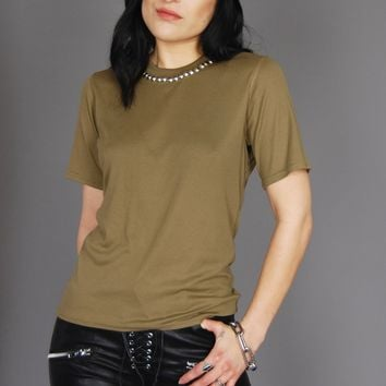 All Day & All Night Studded Short Sleeve Tee