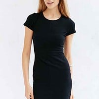 Silence + Noise Seamed Bodycon T-Shirt Dress-
