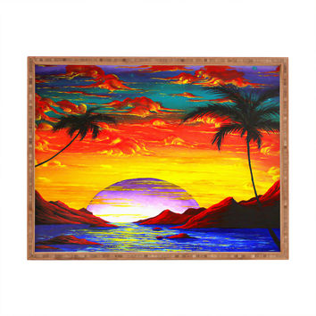 Madart Inc. The Birth Of Eden Rectangular Tray