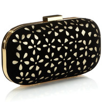 Dene Clutch | Black | Monsoon