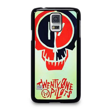 TWENTY ONE PILOTS SKULL Samsung Galaxy S5 Case Cover