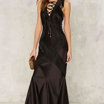 Nasty Gal Collection Question of Obsession Maxi Dress