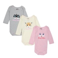 Baby 3Pc Zoo Animal Playsuit Gift Set by Juicy Couture