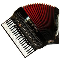 Royal Standard Meteor, 120 Bass, 16 Registers, Case, German Piano Accordion, 621