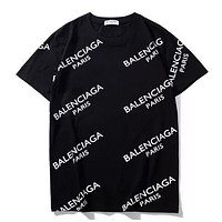 Women Men Balenciaga Shirt Fashion Casual Top Tee