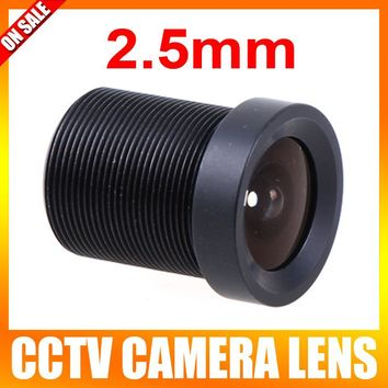 2.5mm 130 Degree Wide Angle CCTV Lens Fixed CCTV Camera IR Board Security Lens M12