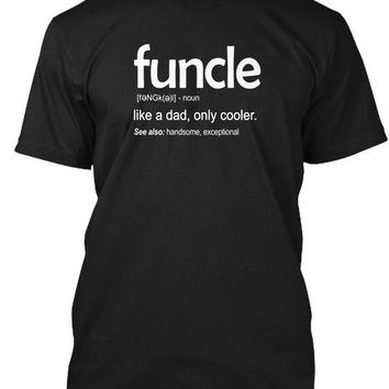 Mens Mens Funcle Definition T Shirt