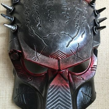 Cosplay Quality Alien Vs Predator Red Eye Mask