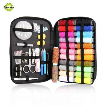 25/90/94pcs Multifunction Sewing Box Sewing Thread Stitches Needles Tool Set Cloth Buttons Craft Scissor Travel Sewing Kits Case