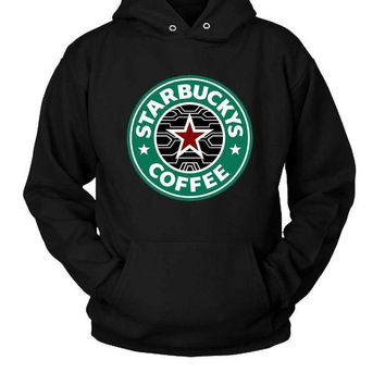 LMFP7V Bucky Barnes The Winter Soldier Coffee Hoodie Two Sided