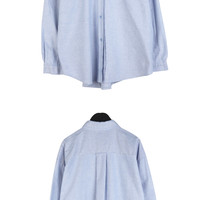 Oxford-Inspired Button-Up Shirt