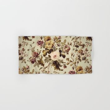 Vintage florals2 Hand & Bath Towel by Jessica Ivy