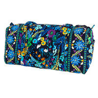 Small Duffel In Midnight Blues By Vera Bradley 10138-136