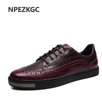 NPEZKGC Men Shoes luxury Brand Moccasin Genuine Leather Casual Driving Oxfords Shoes Men Loafers Moccasins Italian Shoes for Men