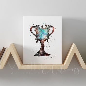Harry Potter Triwizard Cup Gallery Wrapped Canvas