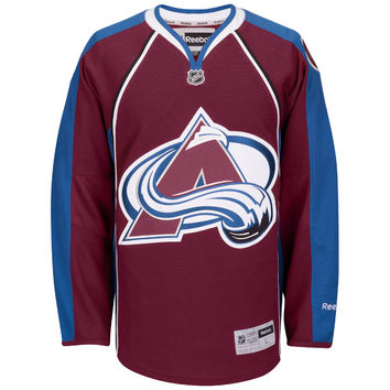 Men's Colorado Avalanche Reebok Maroon Premier Home Jersey
