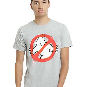 Ghostbusters Spray Paint Logo T-Shirt