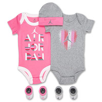 Girls' Infant Jordan Decode Heart 5-Piece Jersey Set