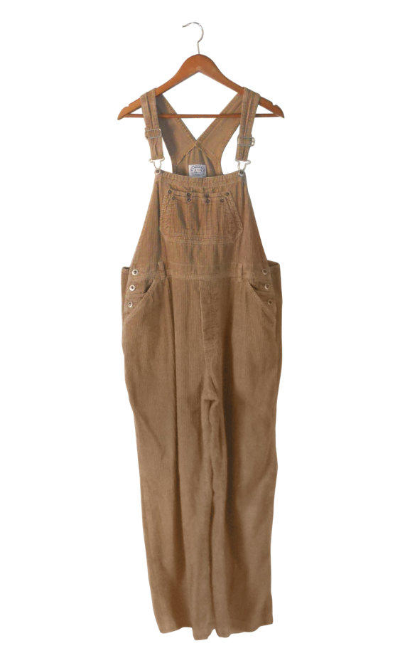 Plus Size Overall Xl Overall Corduroy From Secondhandobsession On